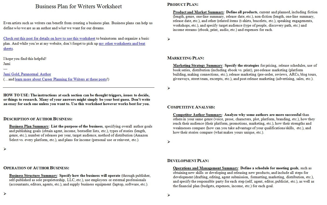 Worksheets For Writers  Worksheets Writing Help And Writing