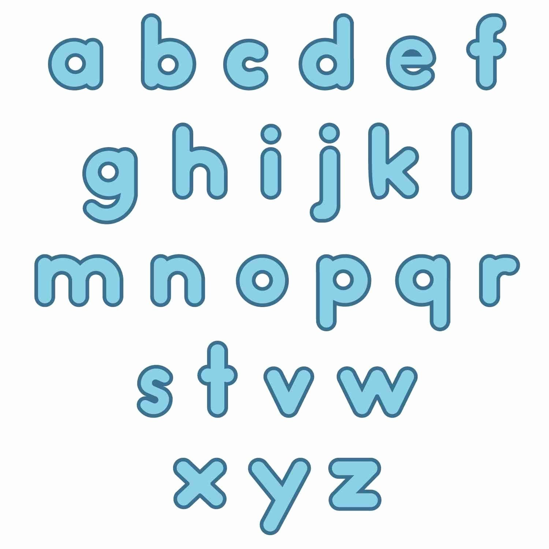 Alphabet Coloring Pages A Z Printable Luxury Bubble