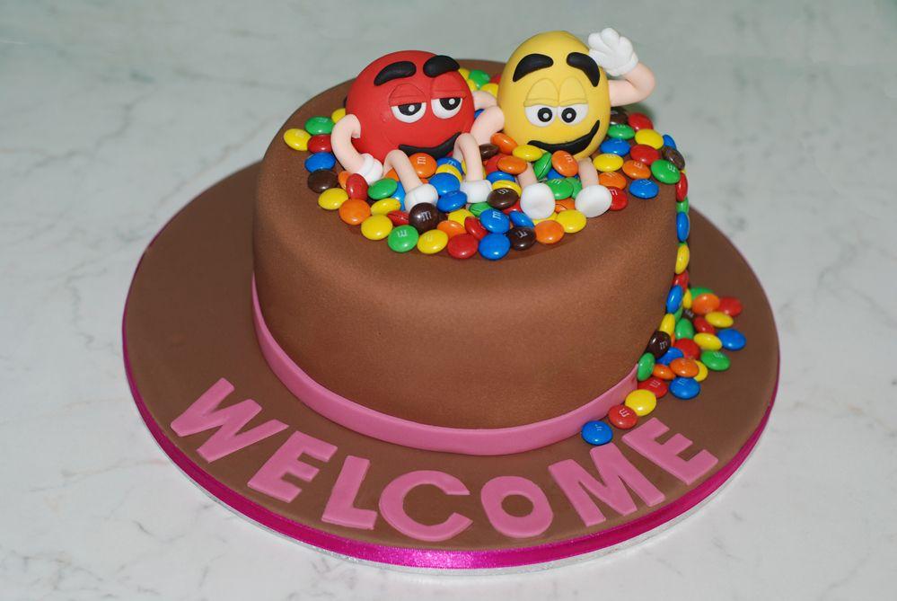 m & m cake   Cakes   Themed cupcakes, Cake, Cupcake cookies