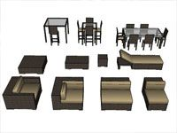Download unlimited 3d sketchup furniture components