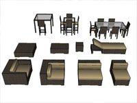 Download Unlimited 3d Sketchup Furniture Components Dengan Gambar