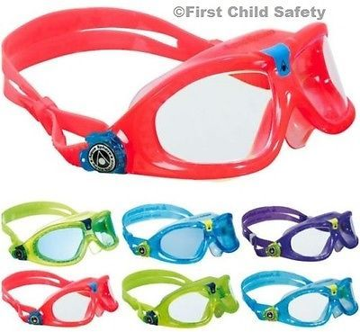 New -aqua sphere childs junior seal kid 2 #swimming #goggles/mask #pink/blue/lime,  View more on the LINK: 	http://www.zeppy.io/product/gb/2/261758058585/