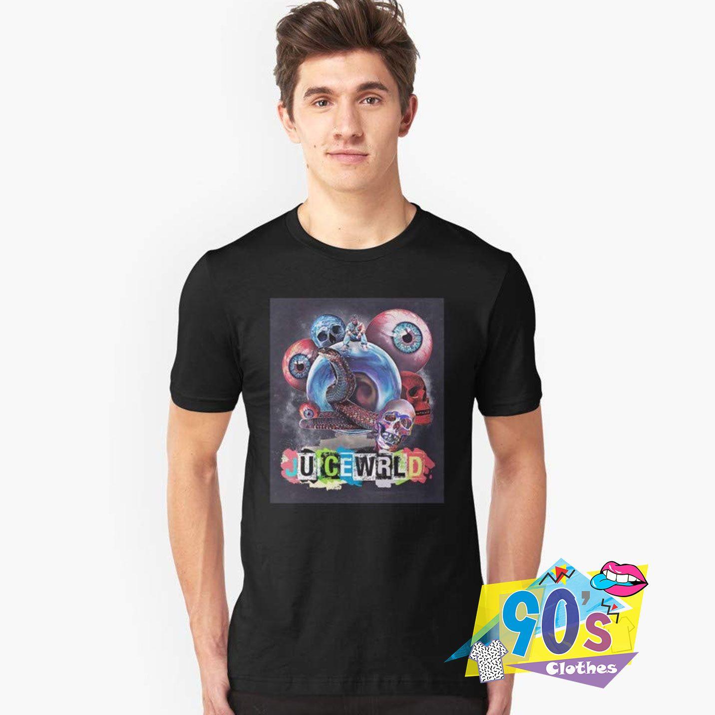 Kid Cudi Indicud And Horror Skull T shirt #decadedayoutfits