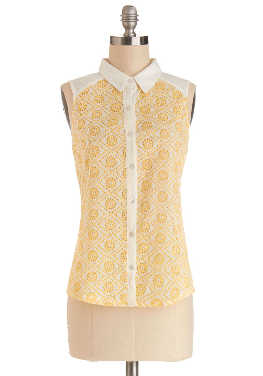 Outdoor Outing Top, #ModCloth