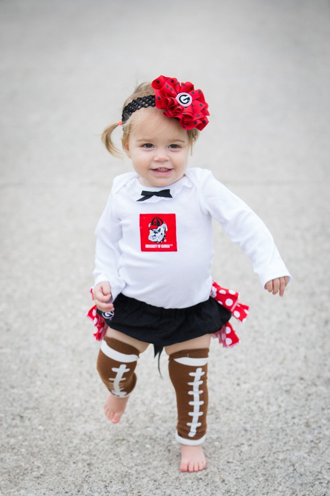 cf12a7d04 Baby Girls Georgia Bulldogs Game Day Ready Outfit. Girls Cardinals  Cheerleader Ruffled Bloomer Outfit Headin' off to the game? Tailgaters?  Gameday spirit?
