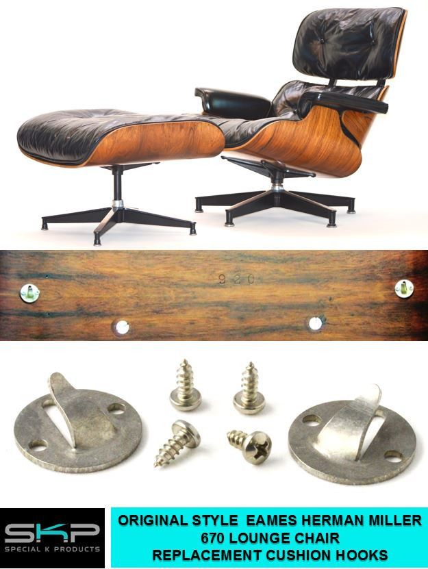 Magnificent Details About Cushion Hooks For Eames Miller 670 671 Forskolin Free Trial Chair Design Images Forskolin Free Trialorg