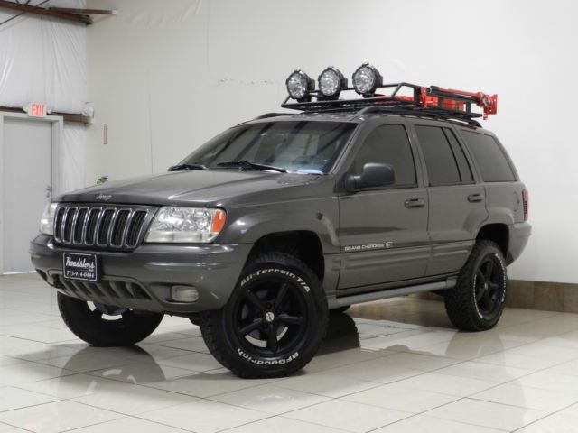 Jeep Grand Cherokee Awd Overland 4 7 H O V8 Lifted Tow Roof