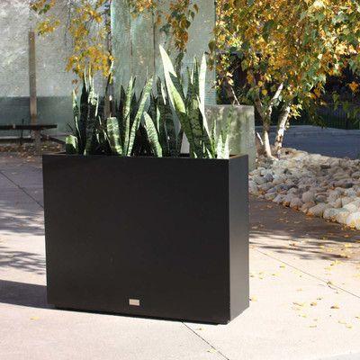 Metallic Series Galvanized Powder Coated Steel Planter Box