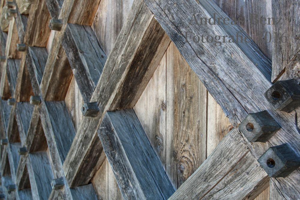 Holzwand, Holz, Schreiner, Zapfen, Alt