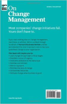 HBR's 10 Must Reads on Change Management (including