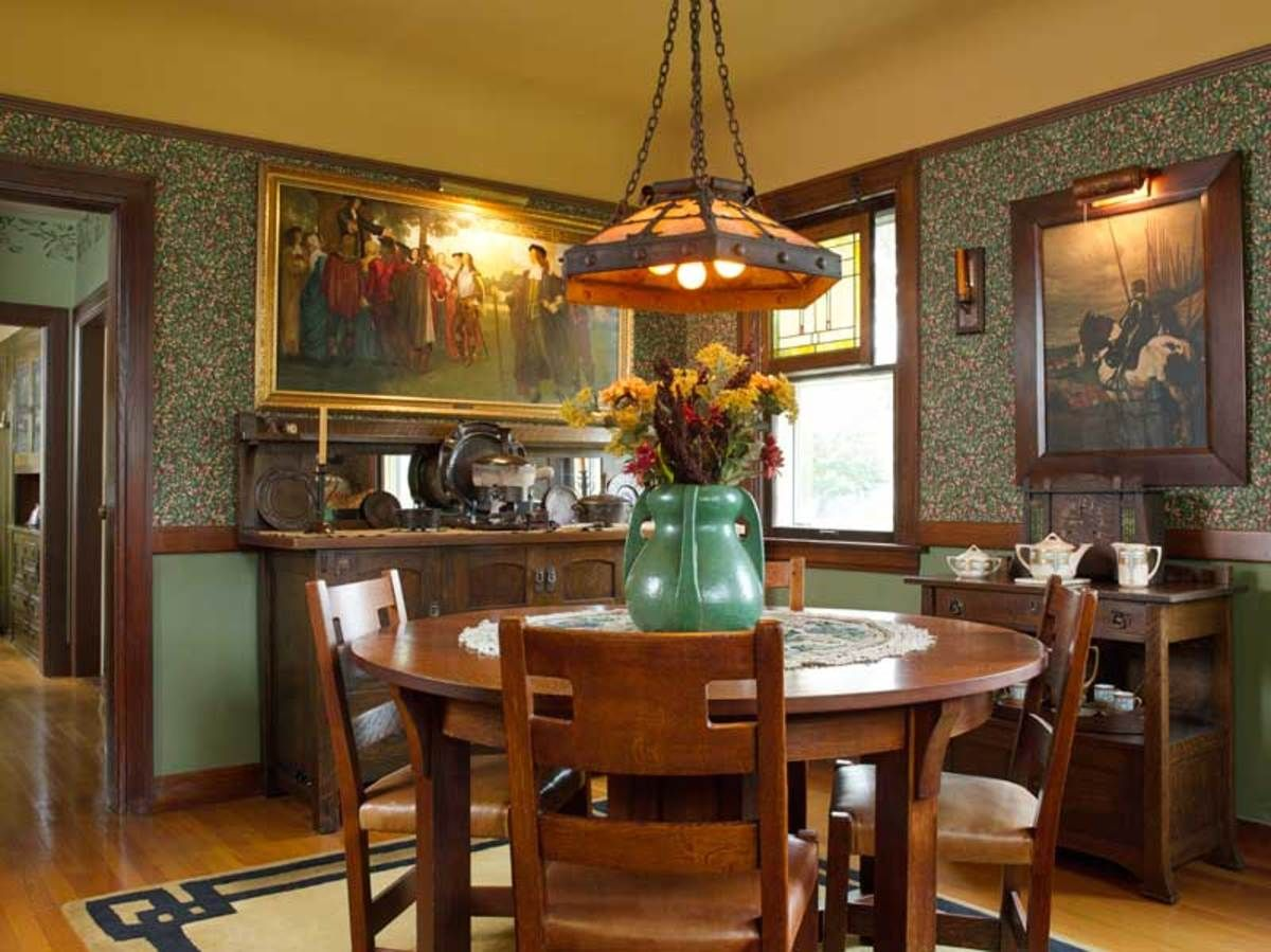 33+ Arts and crafts style dining table info