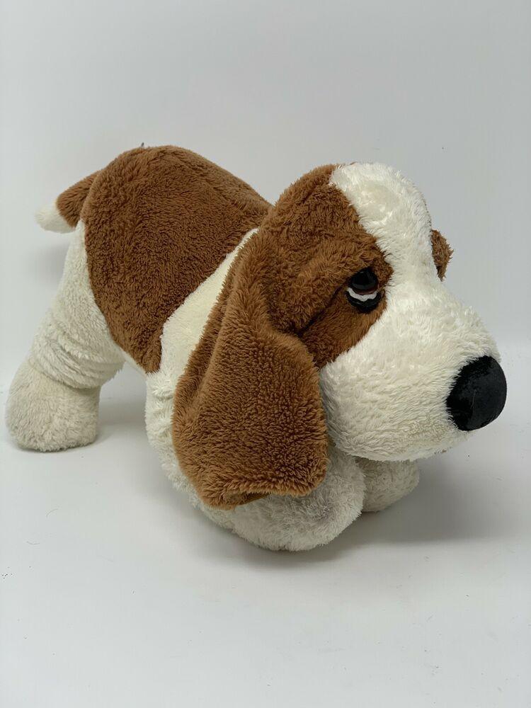 Russ Plush Hush Puppies Basset Hound Dog Puppy Wolverine Stuffed