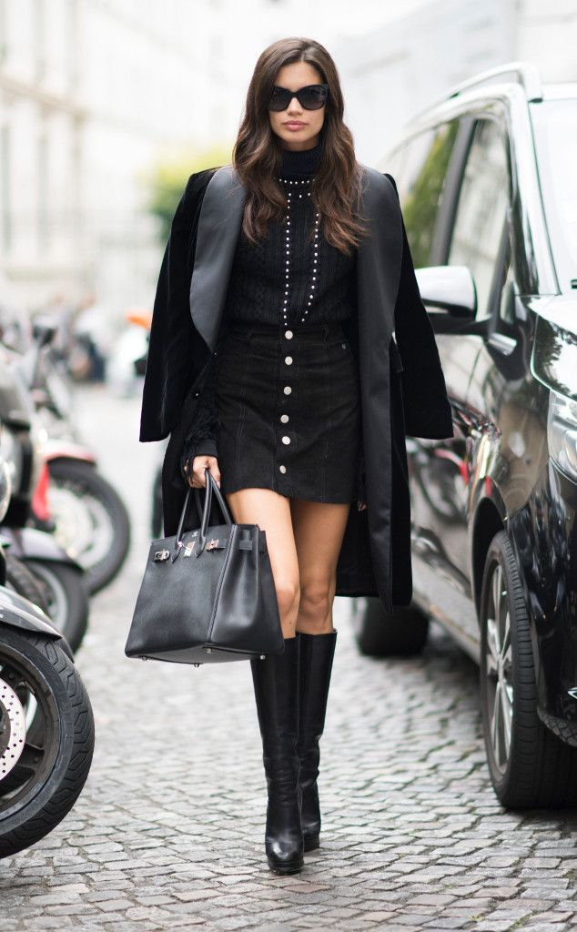 Sara Sampaio: Best Celeb Street Style From Paris Spring 2017