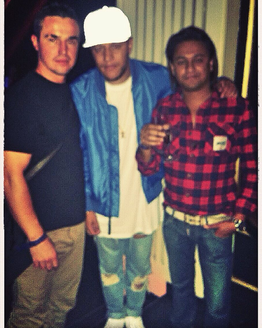 With Amine Edge In Bloody Louis !