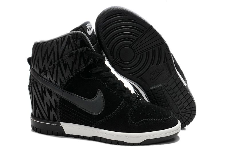 e27d1ec6cc70 Free Shipping Only 69  Nike-Dunk -Sky-High-Print-Womens-Zebra-Triple-Black-Summit-White-543258-002
