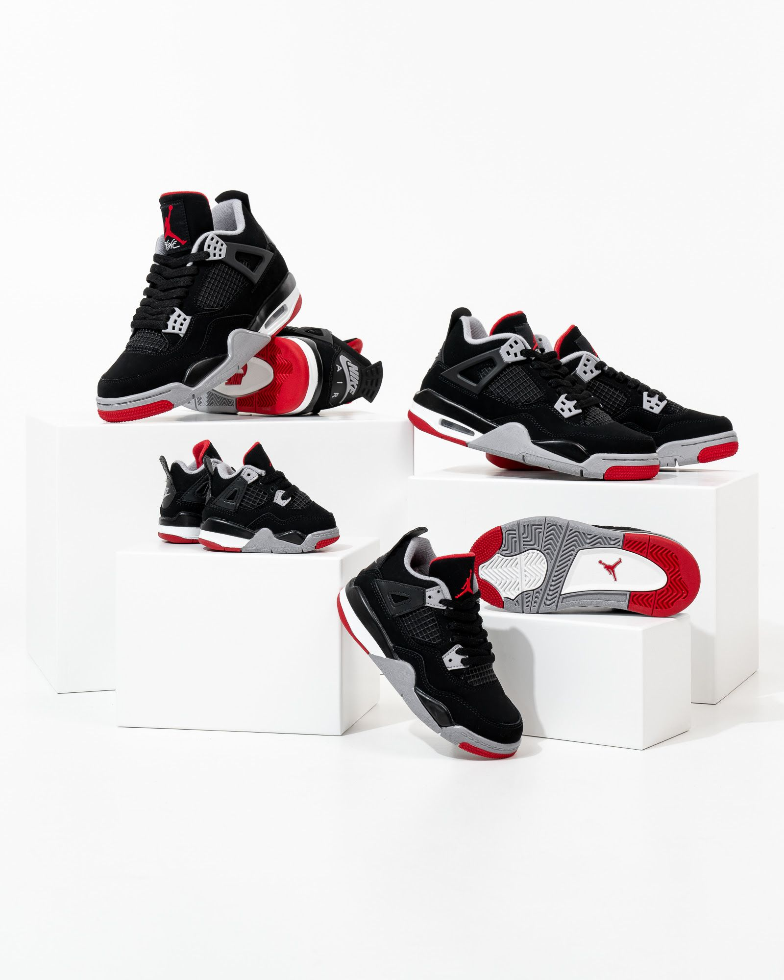 46046e25c5e Air Jordan 4 BRED / Releasing | Street Sneakers | Jordans, Air ...