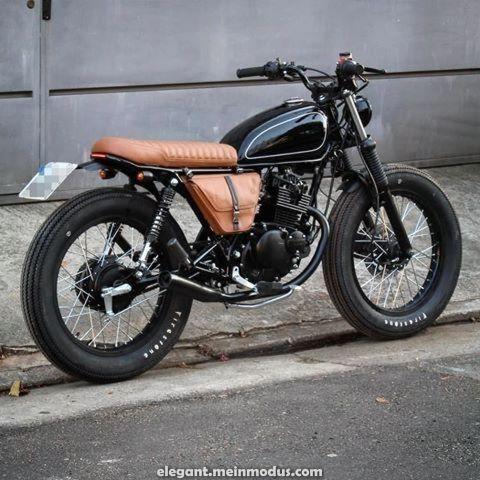 Elegante Suzuki Intruder 1gebaut von Alyssa Benton.handmade.machines – Follow @caf …