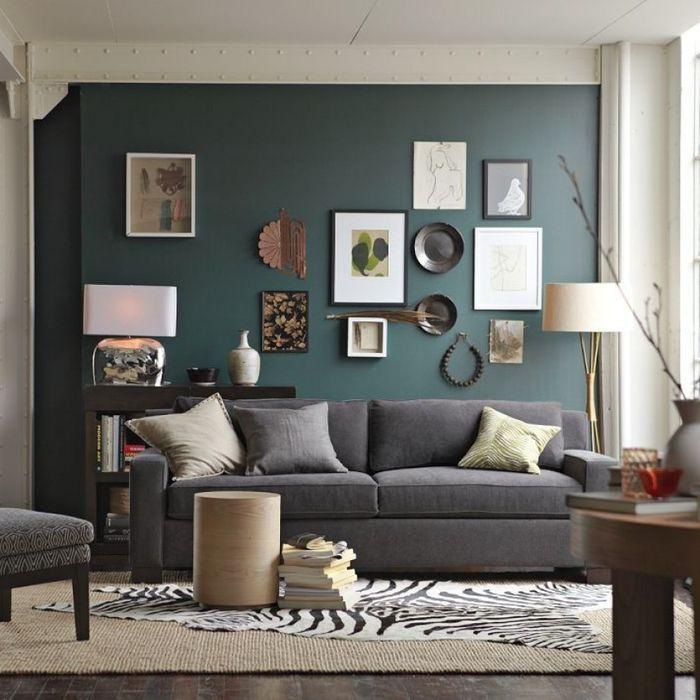 ▷ 1001 + idées déco avec la couleur bleu canard pour une ambiance
