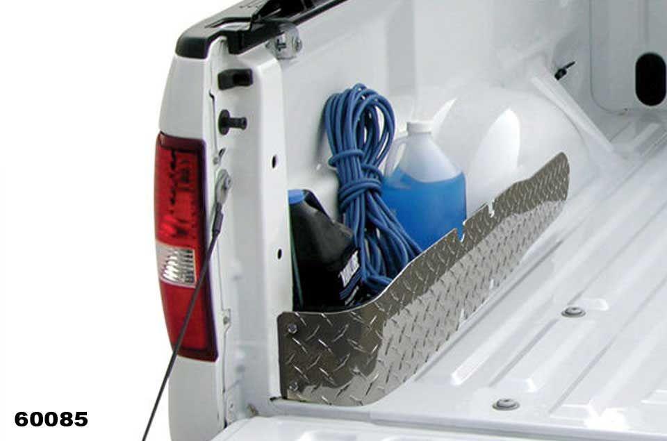 Access Truck Bed Storage Pockets Wheel Well Cargo Organizers
