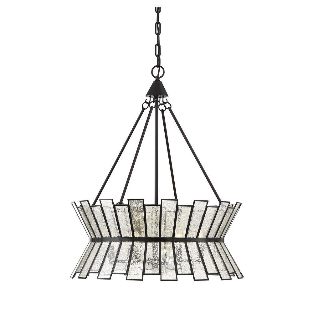 Photo of Filament Design 6-Light English Bronze Chandelier-CLI-SH2805…