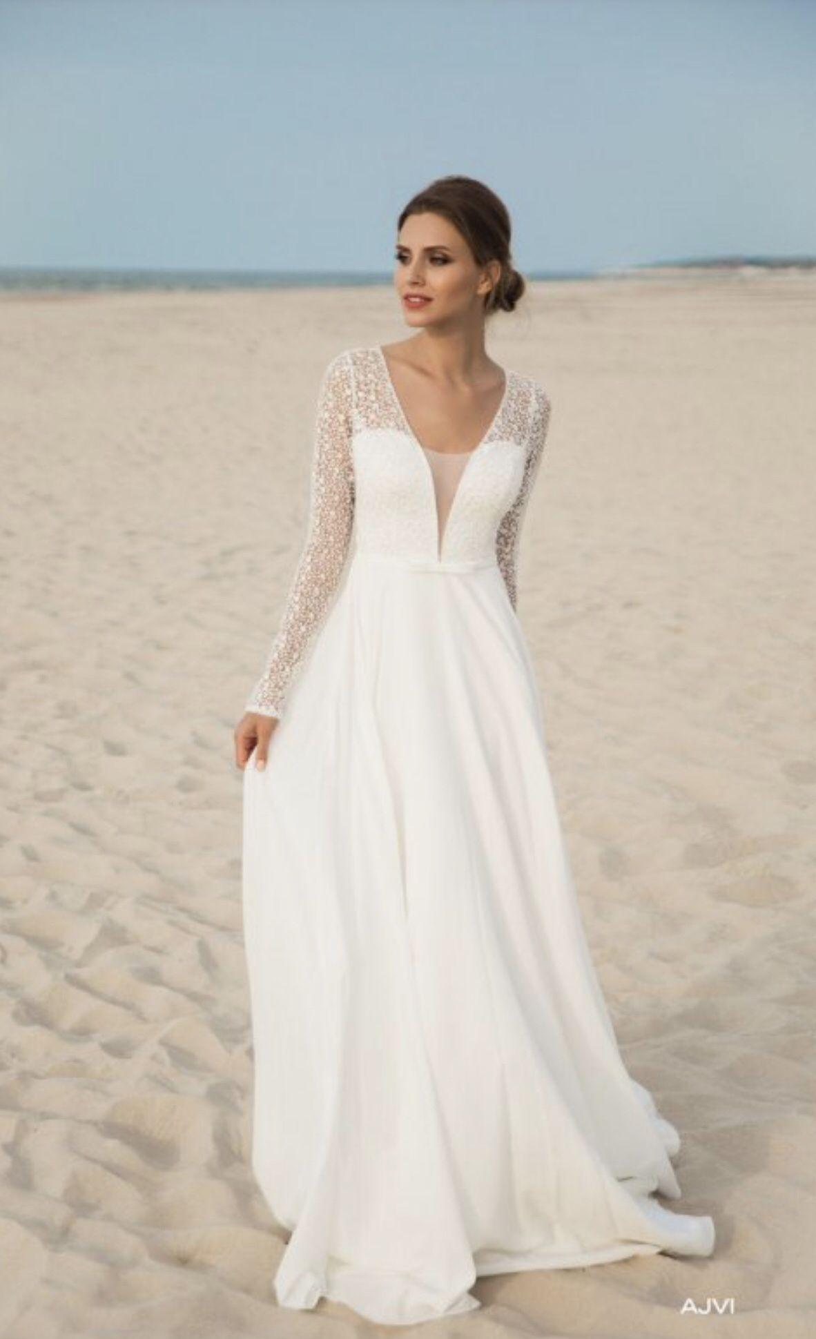 Le Rina - Brautkleid Ajvi - Hochzeitskleid  Hochzeitskleid ärmel