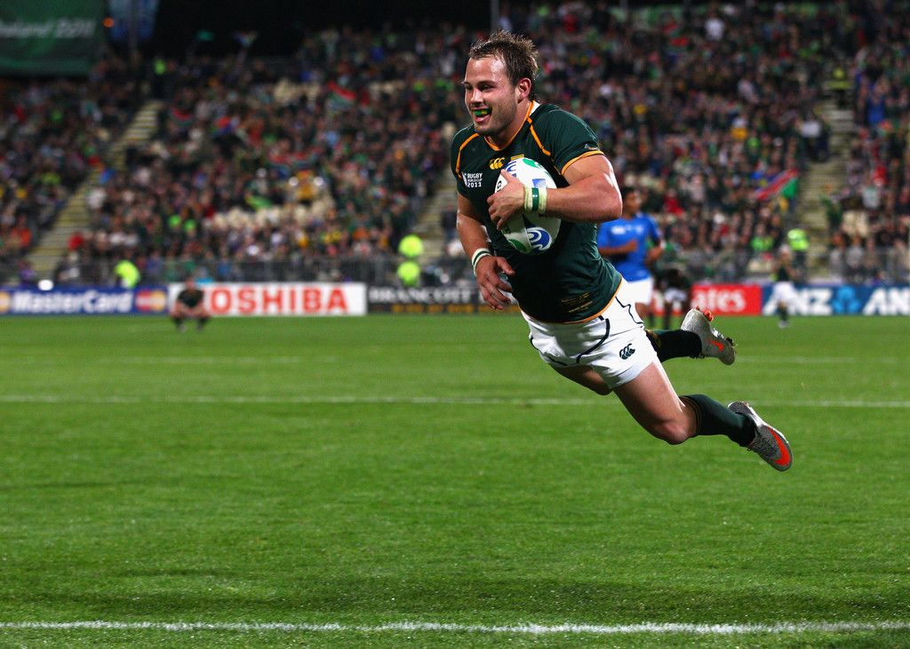 Francois Hougaard Photos Photos South Africa V Namibia Irb Rwc 2011 Match 22 Rugby Men International Rugby World Rugby