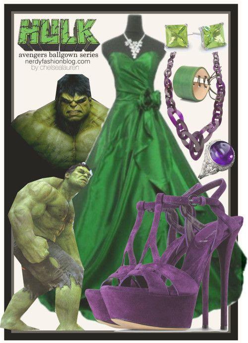 Hulk Green Prom Dress