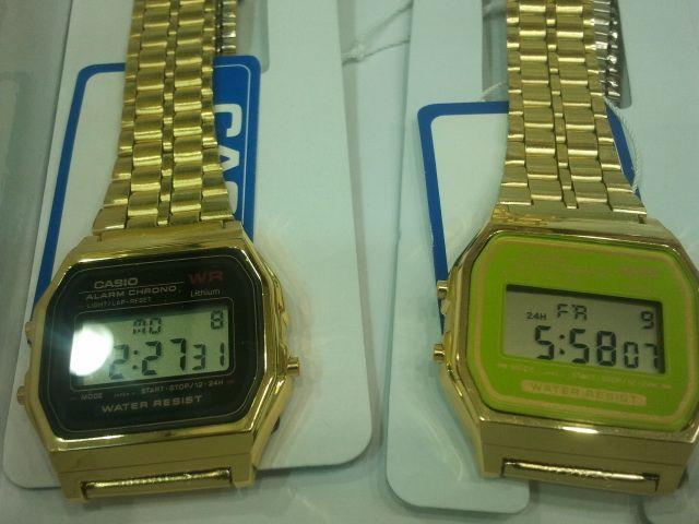 ساعة كاسيو الكوري السعر للدرزن 600 ريال تطلع خمسين ريال للحبة مع علبة كاسيو وبدون ضمان Casio Casio Watch Chrono
