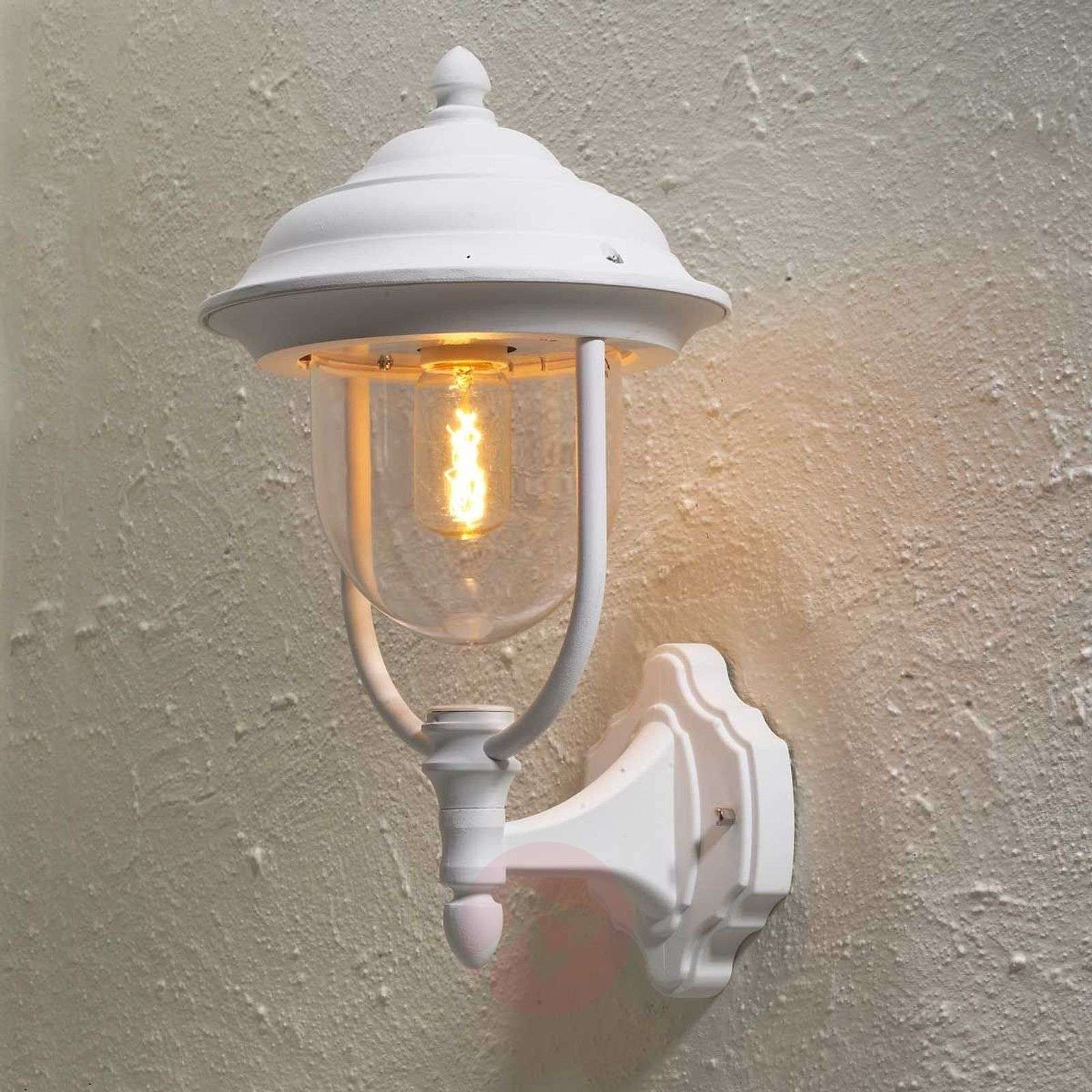 Zewnętrzna Lampa ścienna Parma Stojąca Biały Lampy