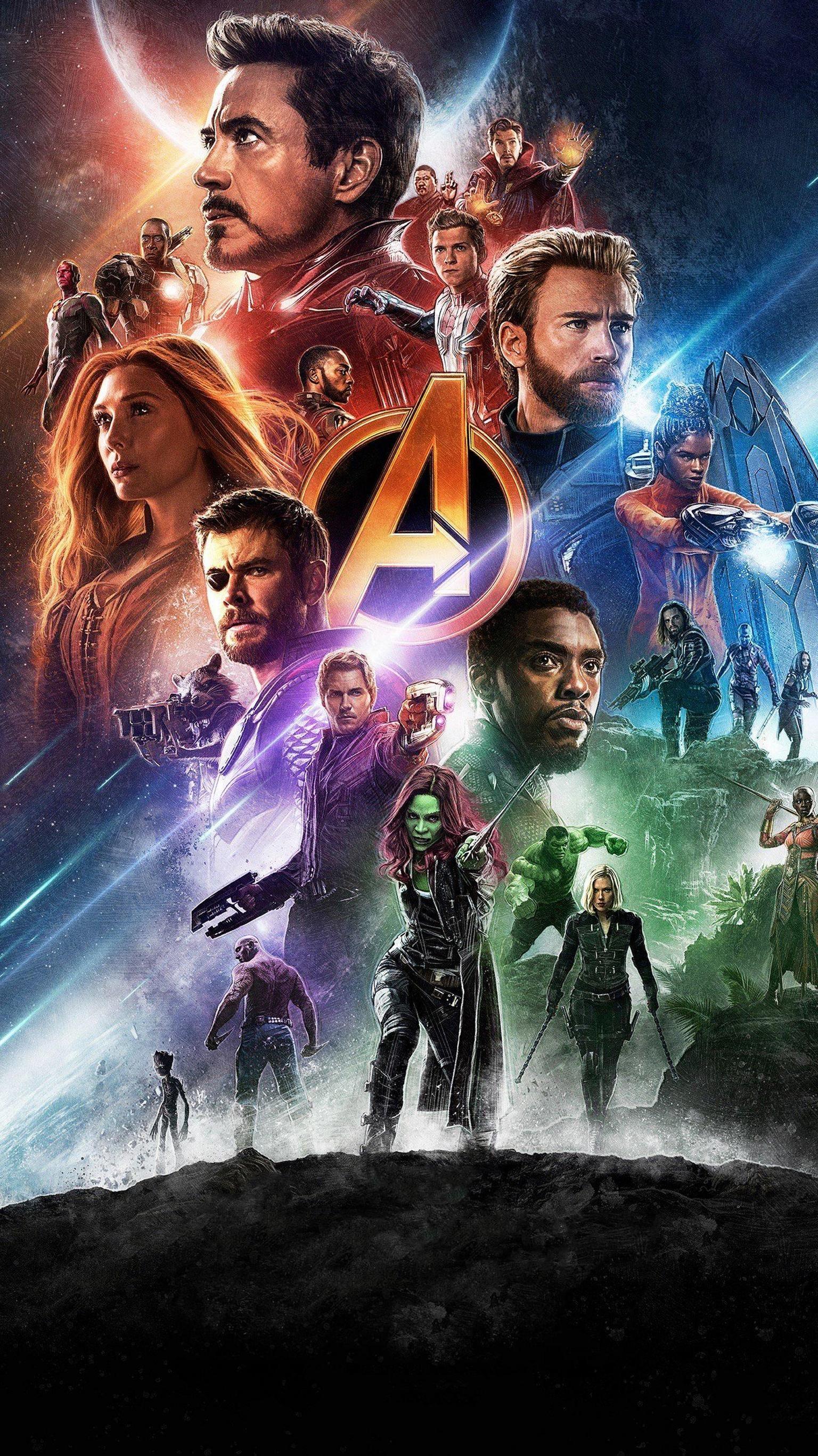 Avengers Infinity War 2018 Phone Wallpaper Moviemania In 2021 Marvel Comics Wallpaper Marvel Avengers Movies Avengers Poster
