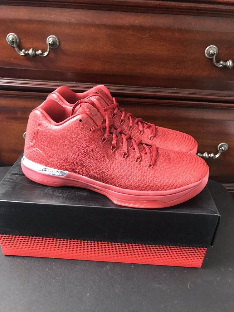 e83f6dc9163 NIKE AIR JORDAN XXXI LOW 31 GYM RED/ACTION RED SIZE MEN'S 12 Box Missing  Lid #fashion #clothing #shoes #accessories #mensshoes #athleticshoes (ebay  link)