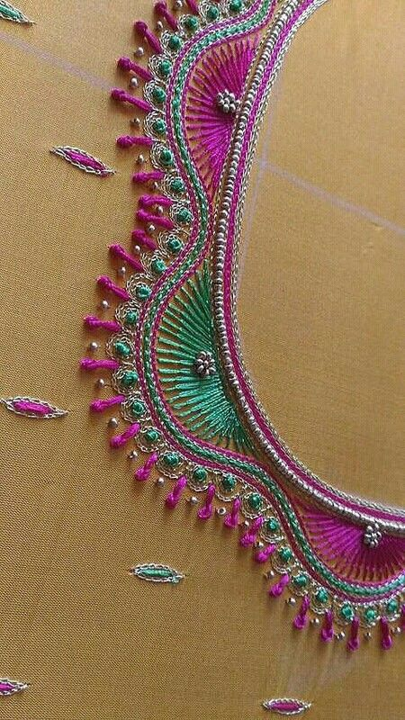 Pin By Risitavidhya On Embroidery N Aari Work Embroidery Neck Designs Embroidery Blouse Designs Hand Work Blouse Design,Traditional Japanese House Design Pictures