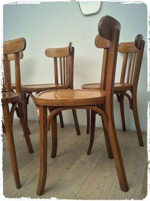 Chaise Bistrot Vintage Baumann Et Mahieu