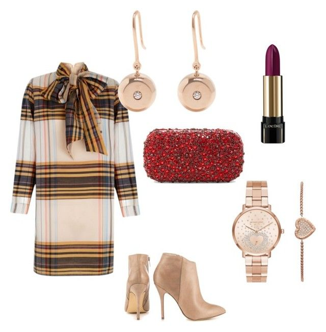 """""""Yes to this DRESS"""" by cole222 on Polyvore featuring The 2nd Skin Co., Steve Madden, Michael Kors, Aurélie Bidermann, Alice + Olivia and Lancôme"""