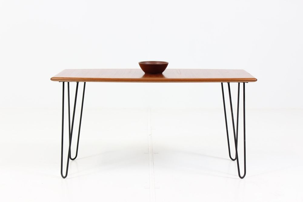 Danish Design Teak Coffee Table 60er D Nisch Teak