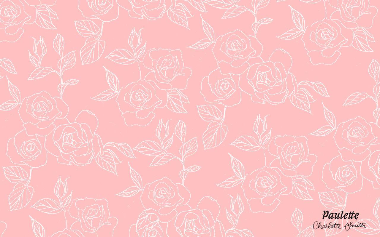 Chaque Premier Vendredi Du Mois On Vous Offrira En Telechargement Gratuit 3 Fonds D Ecran Rose Wallpaper Macbook Wallpaper Rose Illustration