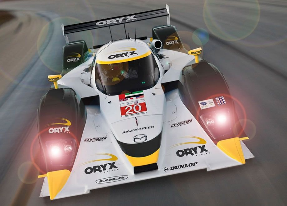 The LMP1 Mazda Lola Coupe  | Oryx Racing