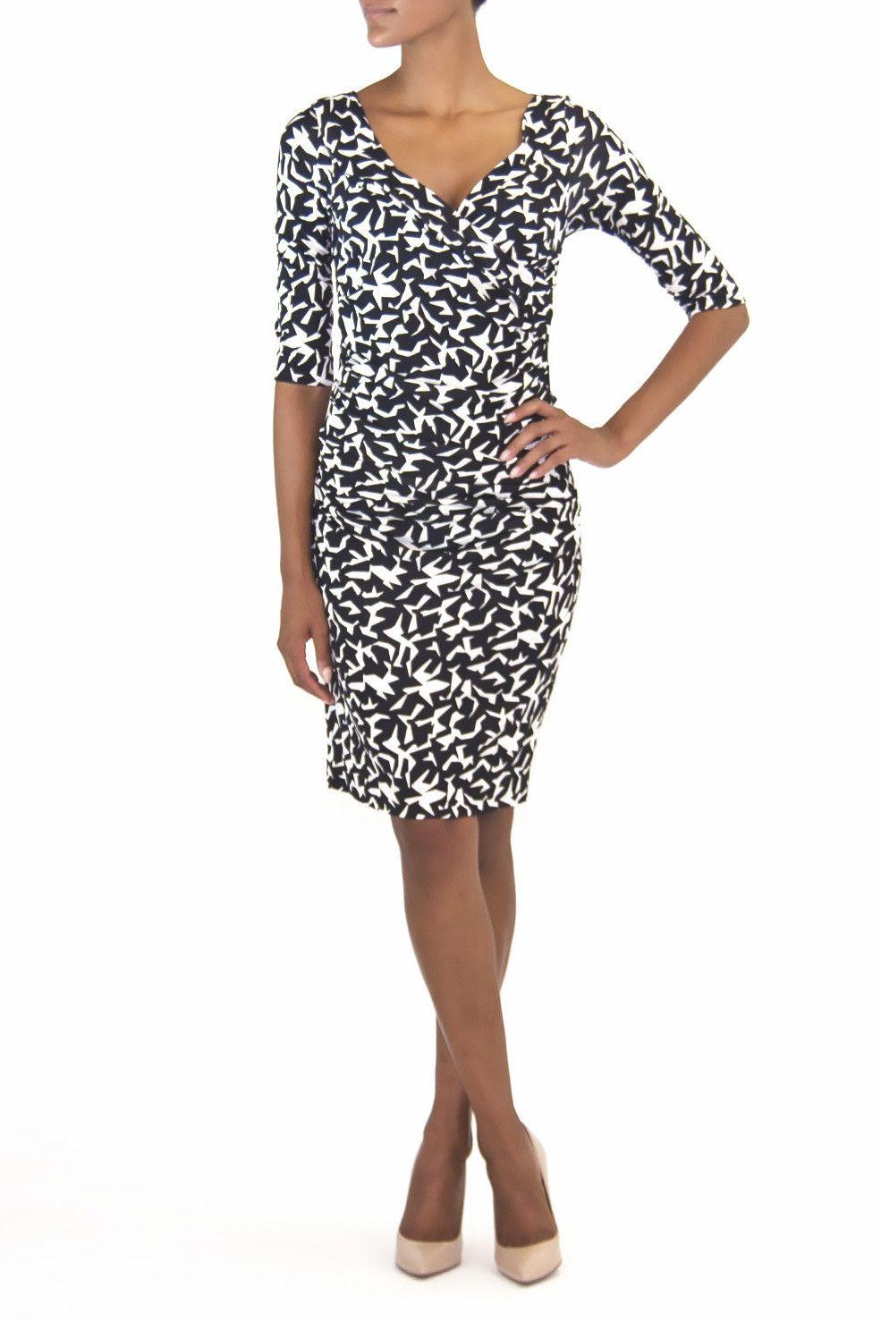 Diane Von Furstenberg Bentley dress  Black u White  Pinterest