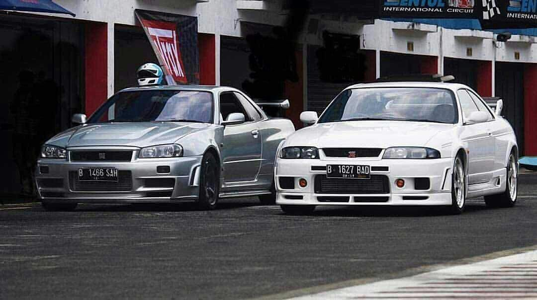 R34 Z-Tune Vs R33 400R | ClubJapo. Portal de coches ...