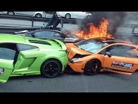 Cool Lamborghini 2017 Best Car Fails And Crashes 2016 Expensive