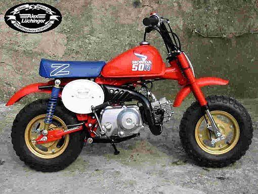 86 Honda Z50 Bike Honda Motorcycle