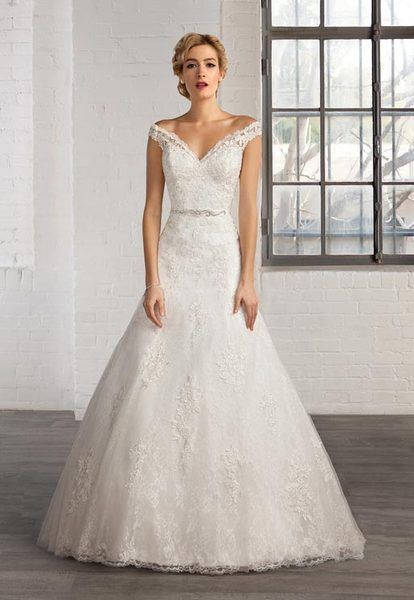 vestido de novia de cosmobella modelo 7754 | webnovias