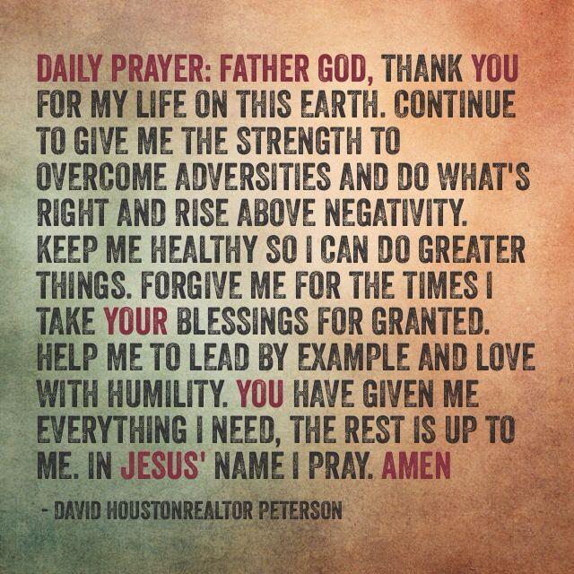 daily prayer quotes inspirational pinterest