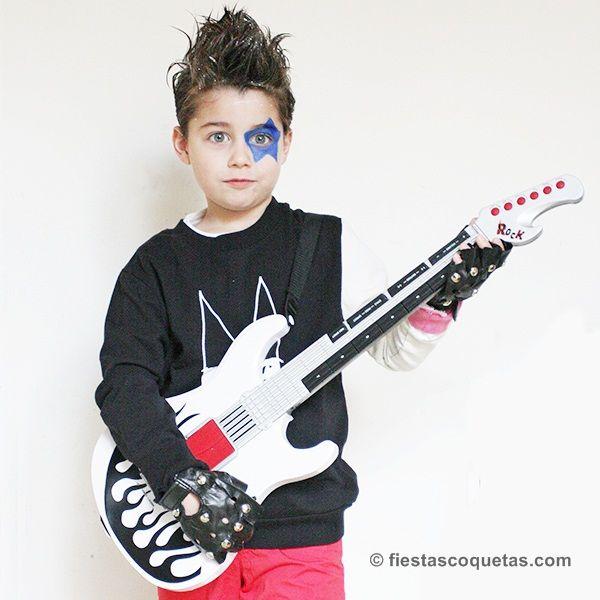 disfraces para ninos rockeros