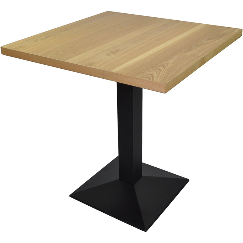 Square Cafe Table Top With Wooden Base Google Search Cafe