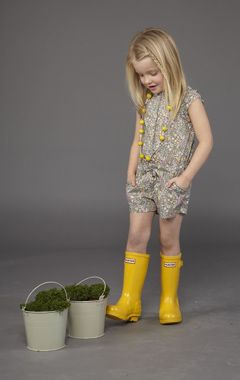Hunter rain boots are perfect for playing in puddles this spring