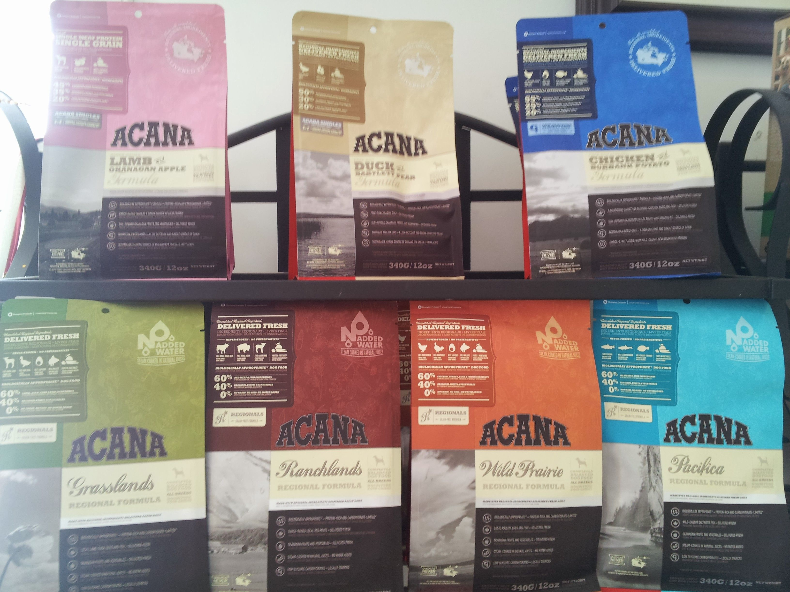 Acana Dog Food 7 Different Formulas Lam Okanagan Apple Duck