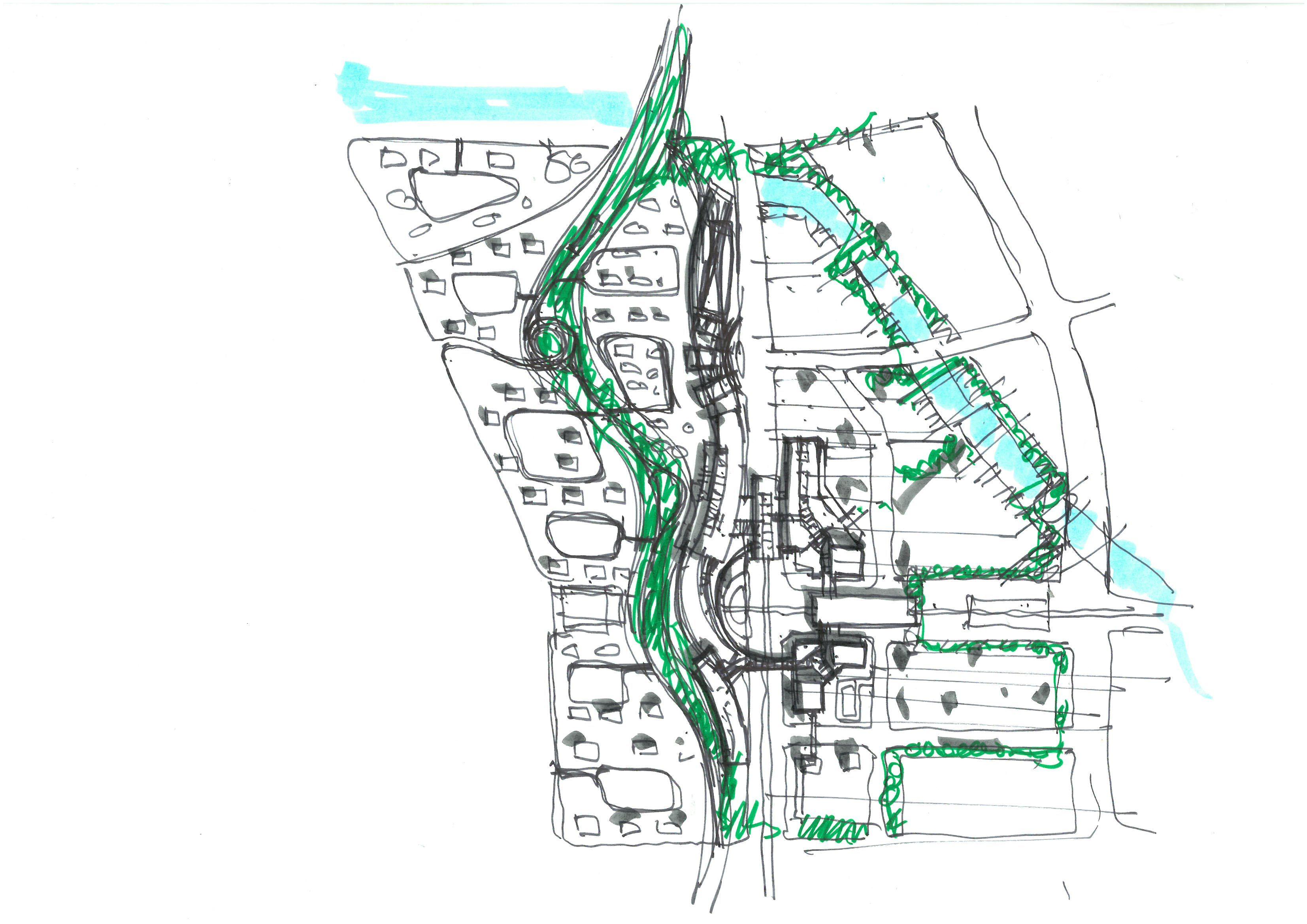Master Plan Concept I Randy Carizo Master Plan Masterplan Architecture Retail Concepts