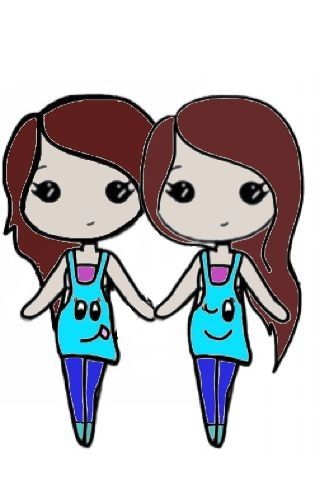 Best Friend Chibi Chibi Bff With Images Chibi Easy Drawings