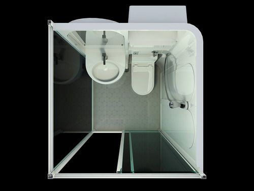All In One Bathroom Units Prefab Toilet Product On Alibaba